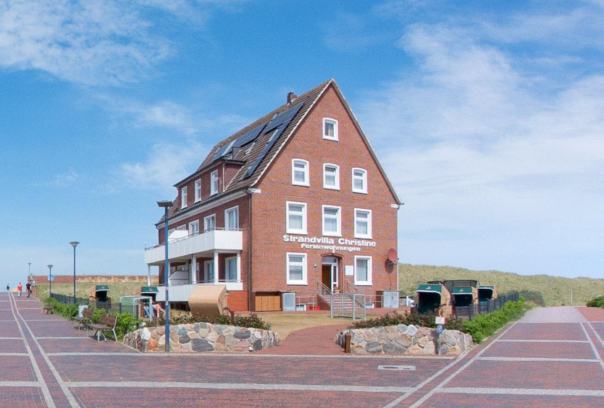 Strandvilla Christine Insel Baltrum