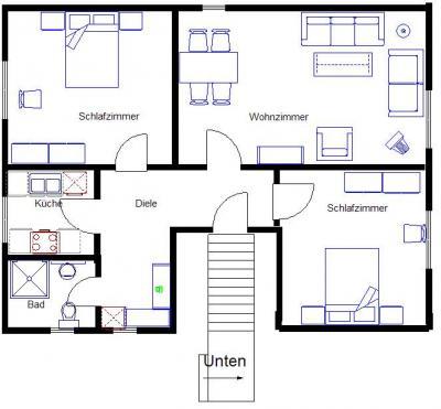 haus am wellenbrecher insel baltrum. Black Bedroom Furniture Sets. Home Design Ideas